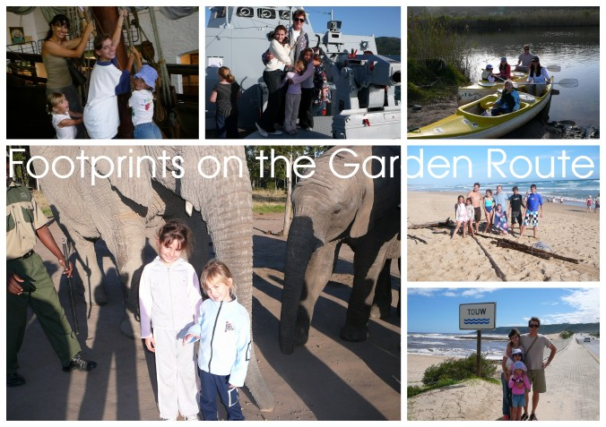Footprints on the Garden Route