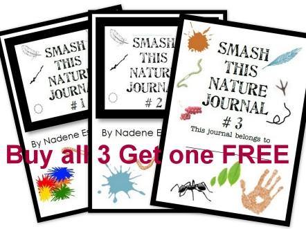 Smash Nature Journals 123